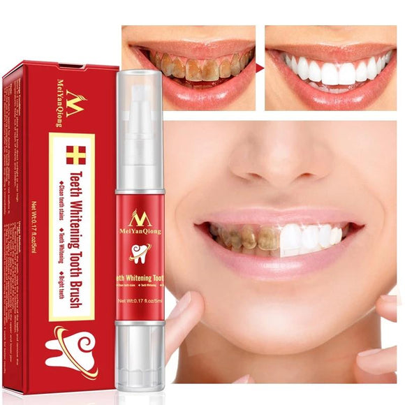 Teeth Whitening Tooth Brush Essence Oral Hygiene Cleaning Serum Removes Plaque Stains Tooth Bleaching Dental Tools Toothpaste - 88digital
