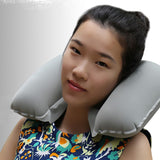 U Shaped Travel Pillow Inflatable Neck Car Head Rest Air Cushion for Travel Office Nap Head Rest Air Cushion Neck Pillow - 88digital