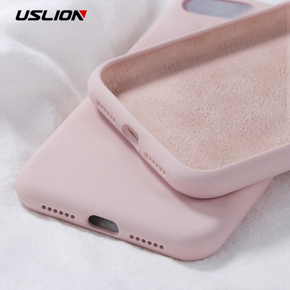 Silicone Solid Color Case for iPhone XS 11 Pro MAX Candy Color Phone Cases for iPhone 11 11Pro Max Soft TPU Back Cover Fundas Coque - 88digital