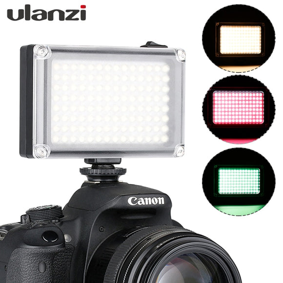 Mini LED Video Light Pocket Vlog Continues Fill Lighting On Camera for Canon Nikon DSLR Moza Mini S Zhiyun Smooth 4 - 88digital