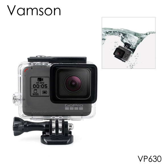 Vamson for Gopro Hero 7 6 5 Accessories Waterproof Protection Housing Case Diving 45M Protective For Gopro Hero 6 5 Camera VP630 - 88digital
