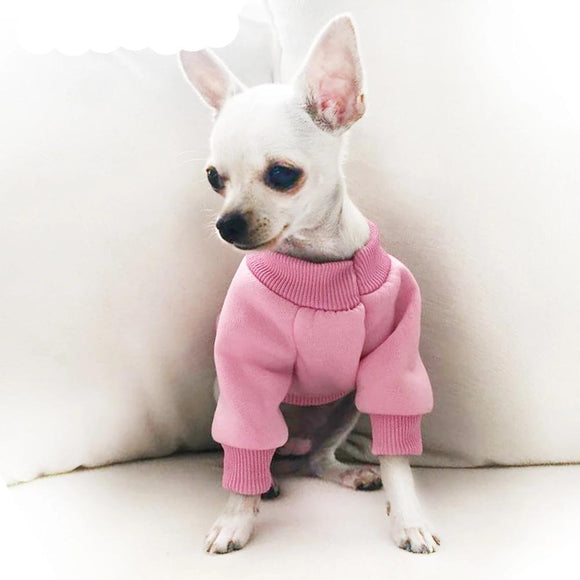 Warm Dog Clothes Winter Pet Dog Coat Jacket for Small Dogs Chihuahua/Yorkie/French bulldog Clothes Hoodies Dogs Pets Clothing - 88digital