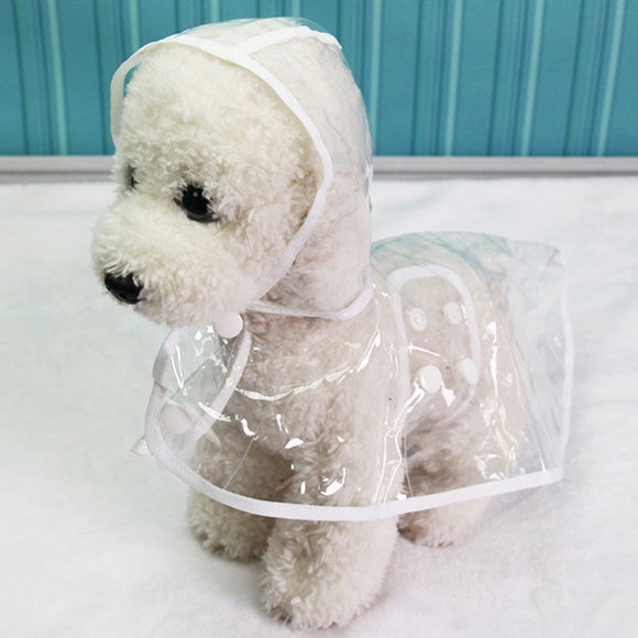 Waterproof Transparent Raincoats XS-XL Dog Raincoat - 88digital