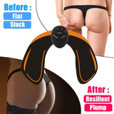 YOSYO 6 PACK EMS Smart Muscle Stimulator Abdominal Trainer Pad + EMS Hip Trainer Buttocks Butt Lifting Slimming Massager Unisex - 88digital