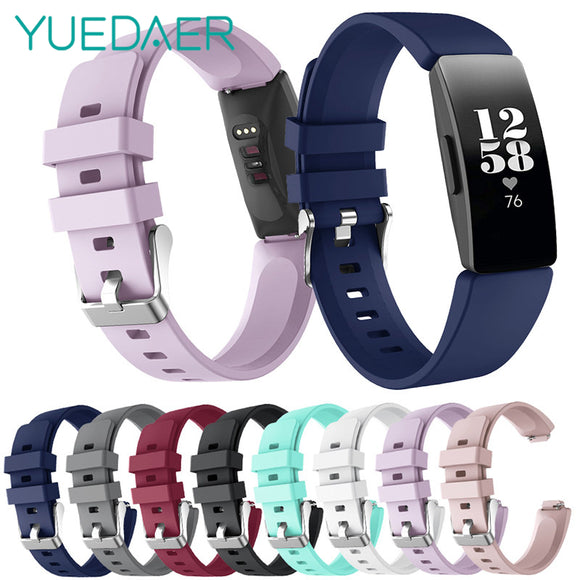 Strap For Fitbit inspire Band For Fitbit inspire HR Straps Silicon Soft TPU Bracelet For Fit Bit inspire Accessories - 88digital