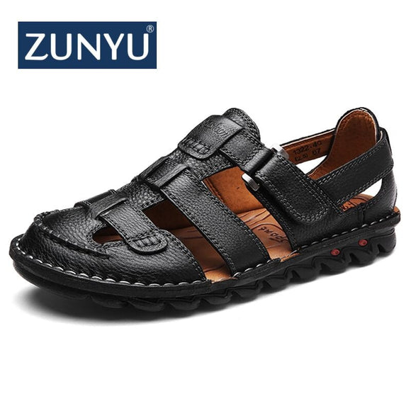 Summer Comfortable Casual Shoes Loafers Men Shoes Quality Genuine Leather Shoes Men Flats Hot Sale Moccasins Shoes - 88digital