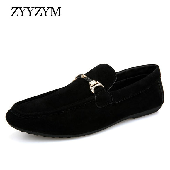 Men Loafers Moccasins Spring Summer Men Casual Shoes Slip On Light Flock Youth Men Shoes Breathable Flat Footwear - 88digital