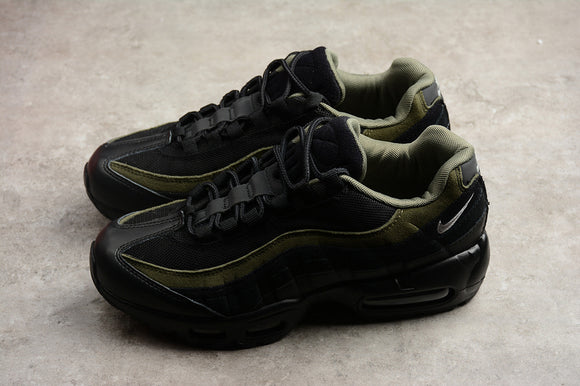 Nike AIR MAX 95 Anthracite Cool Grey Wolf Grey Hal Patches Black Black Cargo Khaki Men Shoes Sneakers Size 39-45 / 6.5-11  AH8444-001