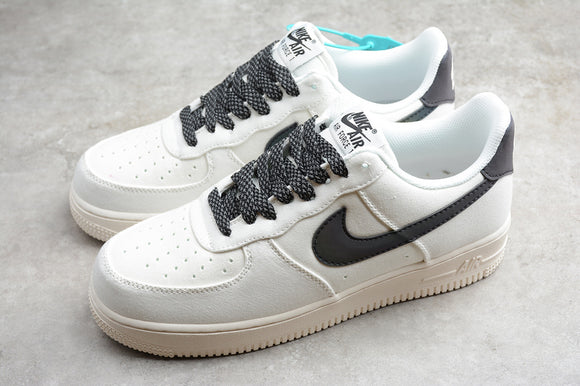 Nike Air Force 1 '07 AF1 Low Chameleon White Black Men Women Sneakers Shoes 315122-104