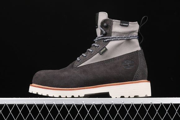 TIMBERLAND MEN Classic MADNESS X Grey Suede 6 inch Premium Boots Waterproof TBA1UJ5F49