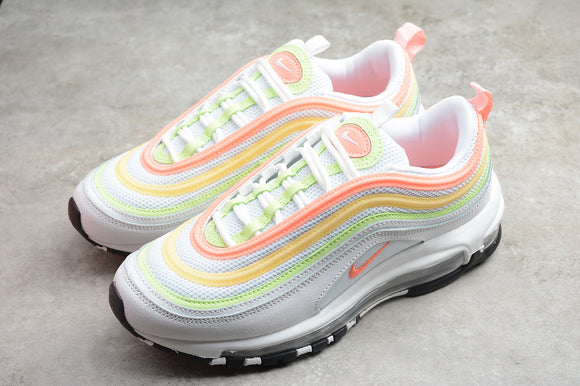 Nike AIR MAX 97 Essential White Melon Mint Volt Women Sneakers Shoes Size 36-40 / 5.5-8.5 CZ6087-100