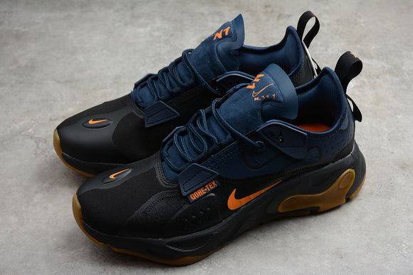 Nike React Type GTX Black Bright Ceramic Blue Orange Men Sneakers Shoes BQ4737-001