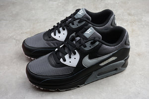 Nike AIR Max 90 Black Wolf Grey Dark Grey Men Shoes Sneakers AJ1285-003