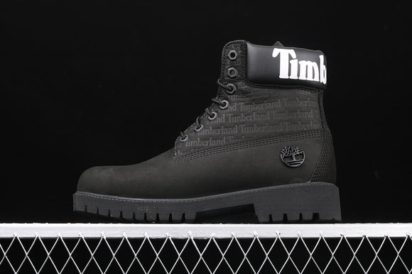 TIMBERLAND MEN WOMEN Classic Hommes Black White 6 inch Premium Boots Waterproof A1TUW