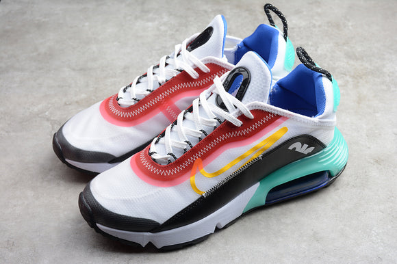 Nike AIR MAX 2090 White Red Black Treasure Blue Powder Men Women Shoes Sneakers Size 36-45 / 5.5-11 CT7698-010