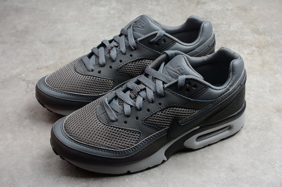 Nike AIR Max 90 BW Dark Grey Aluminum Men Shoes Sneakers 881981-001