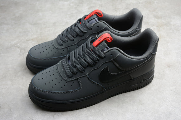 Nike Air Force 1 '07 AF1 Low Black Anthracite Men Sneakers Shoes BQ4326-001