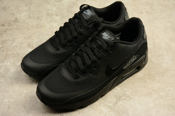 Nike AIR Max 90 Ultra Essential 2.0 Triple All Black Black Black Men Shoes Sneakers 875695-002