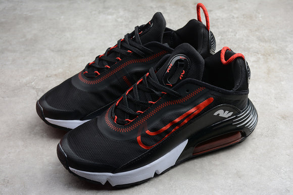 Nike AIR MAX 2090 Black Red -White Men Women Shoes Sneakers CT7698-005