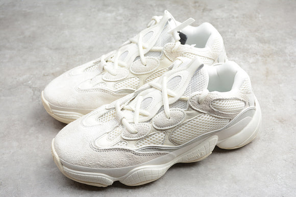 Adidas Yeezy Boost 500 Bone White Men Women Shoes Sneakers FV3573 Size 36-46 / 5-11.5