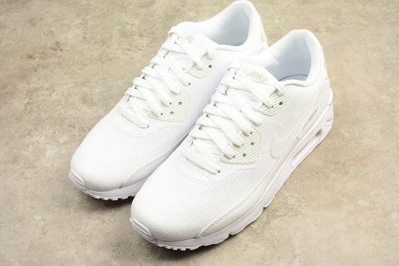 Nike AIR Max 90 Ultra Essential 2.0 Triple All White White White Men Shoes Sneakers 875695-101