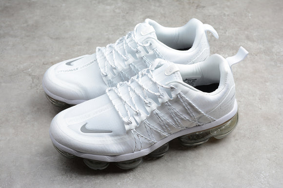 Nike Air Vapormax 2019 All Triple White white white / Run Utility Reflect Silver Men's Women's Running Shoes Sneakers AQ8811-100