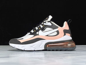 Nike Air Max 270 React Black White Bleached Coral Metallic Gold Men Women Shoes Sneakers Size 36-45 / 5.5-11 AT6174-005