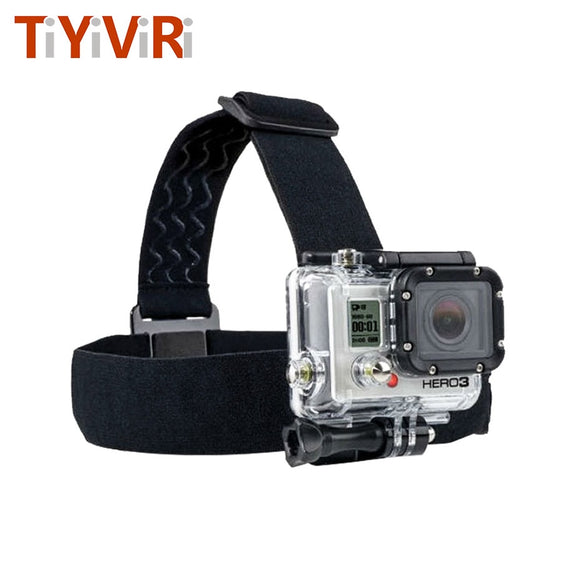 for Go Pro Mount Belt Adjustable Head Strap Band Session for Gopro Hero 6/5/4/3 SJCAM Xiaomi Yi 4k Action Camera Accessories - 88digital