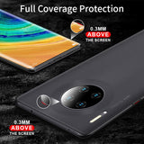 iHaitun Luxury Frosted Case For Huawei Mate 30 Pro Cases Ultra Thin PC Hard Cover Slim Transparent Back Cover For Huawei Mate 20 - 88digital
