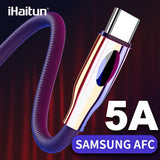 iHaitun Type C USB Cable For Samsung Galaxy S10 S9 S10E Plus A50 Note 10 9 8 Quick Charge 3.0 4.0 PD Data Phone Charger Oneplus - 88digital