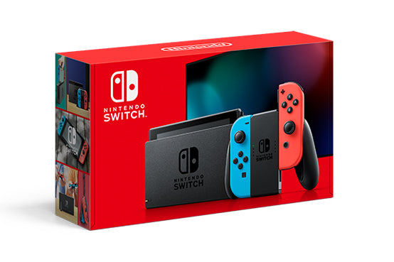 503 Full Games 4TB Hard disk USB + Nintendo Switch V2 Neon Blue Red CFW Sx Core Dual Boot 256gb