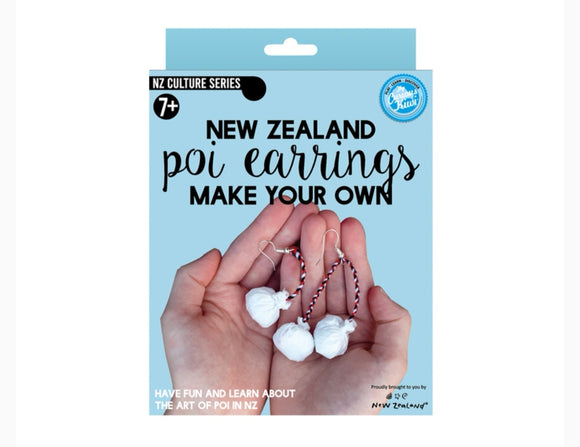 Make your own Poi earrings