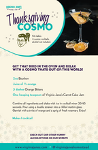 Load image into Gallery viewer, Thanksgiving Cosmo Cocktail Kit