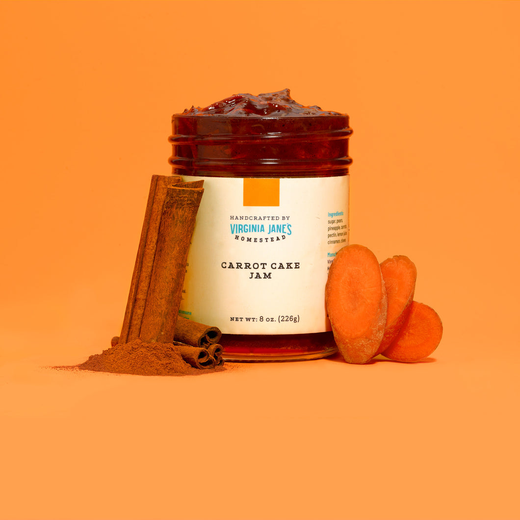 Wholesale: Carrot Cake Jam (Case of 12)