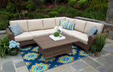 Aspen 5pc Sectional with Sunbrella Fabric