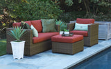 Redbay 3 Deep Seating Set with Sunbrella Fabric