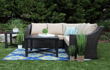 Birch 5pc Sectional with Sunbrella Fabric