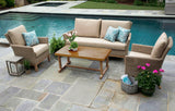 Cottonwood 4pc Deep Seating with Sunbrella Fabric