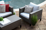 Laurel 4pc Deep Seating with Sunbrella Fabric