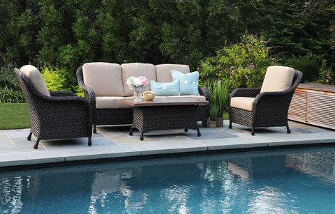 Sycamore 4pc Deep Seating with Sunbrella Fabric