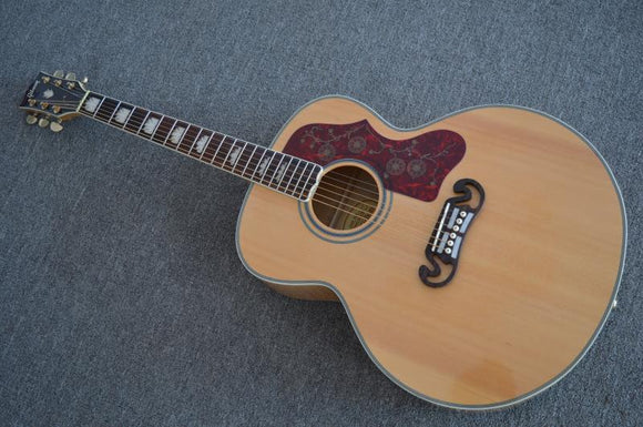 Gibson J200 J-200 Acoustic Guitar Reproduction Natural Blond