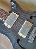 PRS Hollowbody Piezo Guitar Reproduction Faded Whale Blue