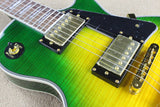 Green LP Custom Electric Guitar Reproduction