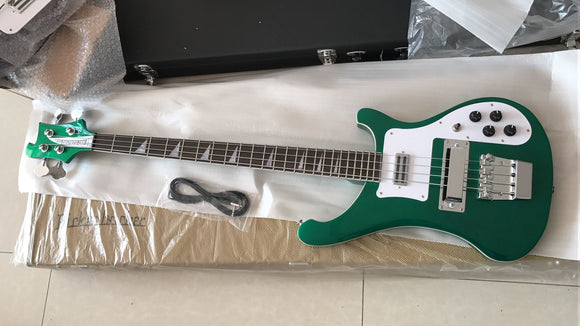 Rickenbacker Bass 4003 Guitar Reproduction Metallic Green