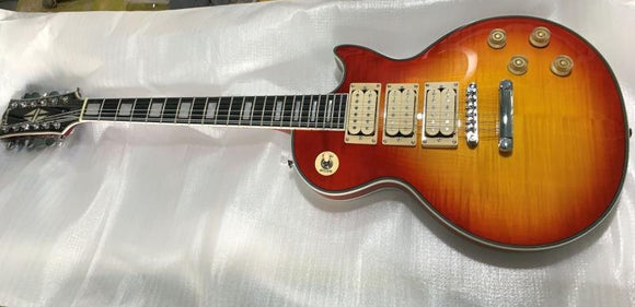 Gibson LP Custom 12 Strings Guitar Reproduction 3 Pickups