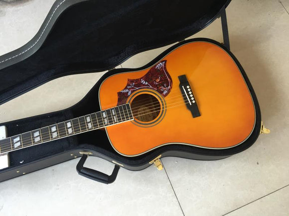 Gibson Hummingbird Acoustic Guitar Reproduction Cherry Sunburst