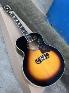 Gibson J200 Acoustic Guitar Reproduction Sunburst