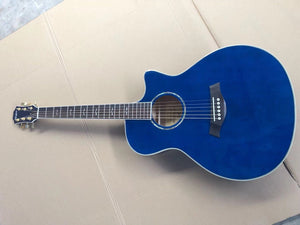 Taylor 612 Grand Concert Guitar Reproduction Ocean Blue