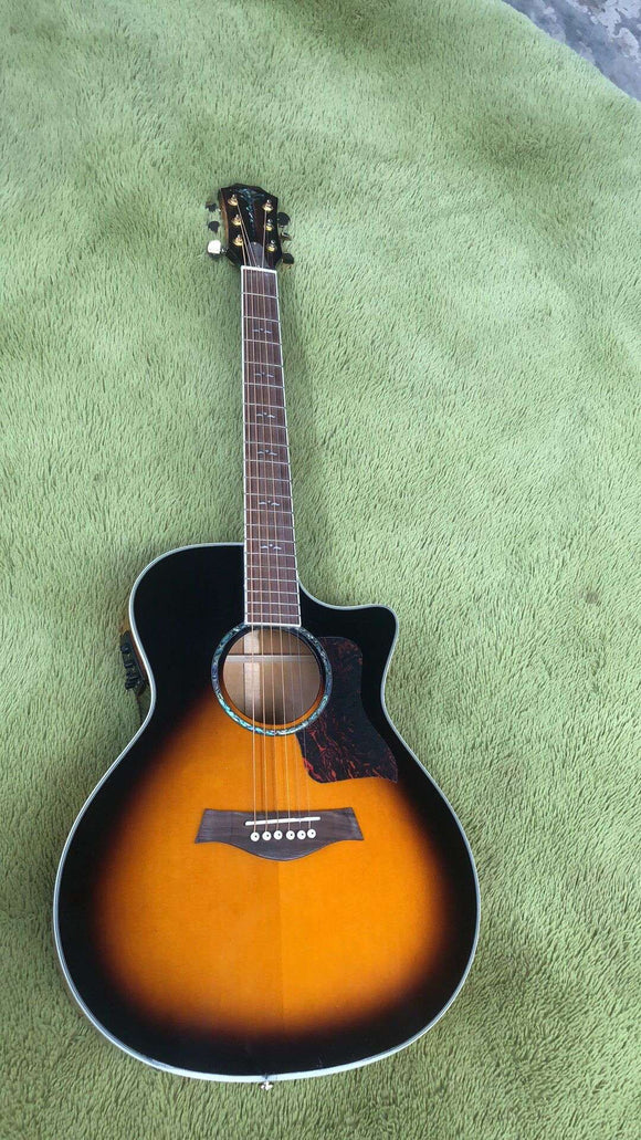Taylor 814ce Guitar Reproduction Sunburst