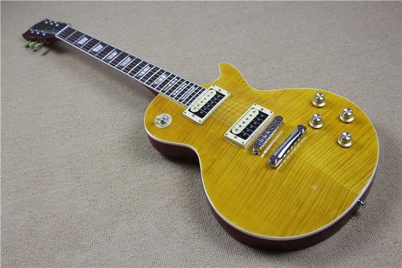 Slash Appetite Guitar Reproduction LP Standard Tiger Maple Top